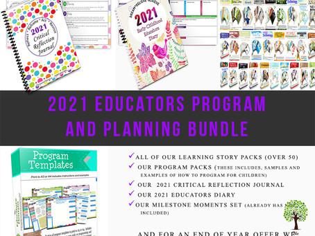 2021 Educators Program and Planning Pack