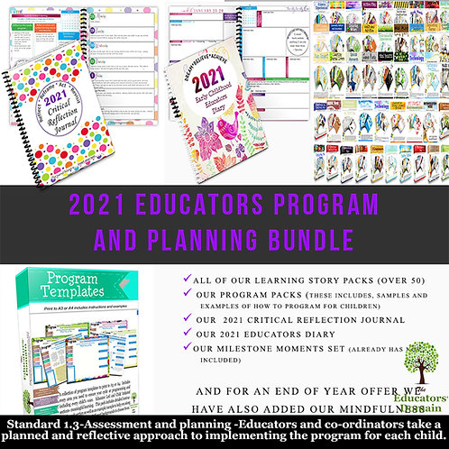 2021 Programming and Planning Pack