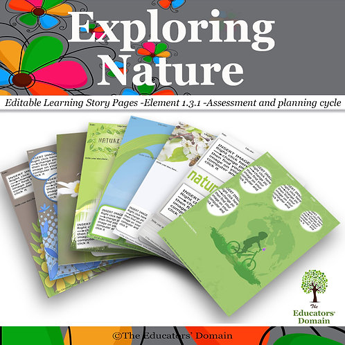 Exploring Nature Learning Story Pack