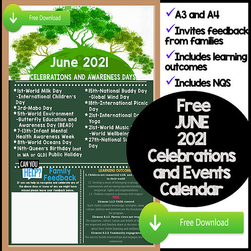 June Events and Awareness Days