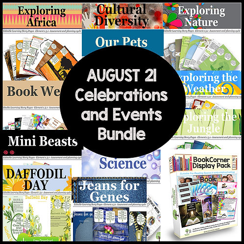 August Events and Awareness Days Bundle Offer