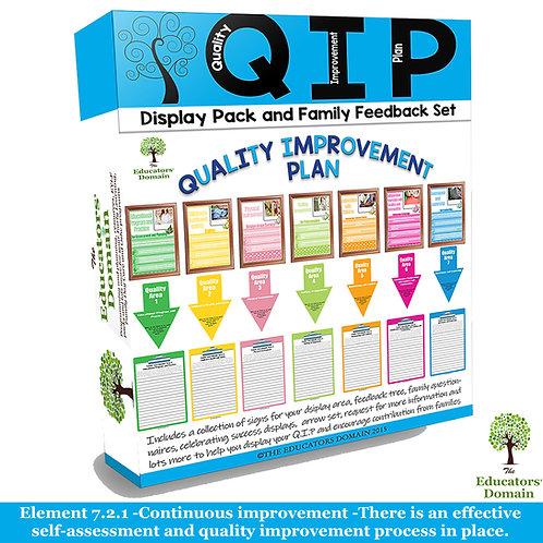 Q.I.P Family Feedback and Display Set