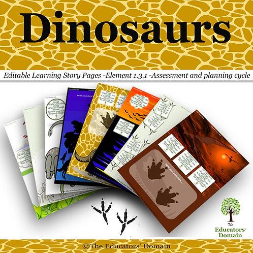 Dinosaur Learning Story Pack