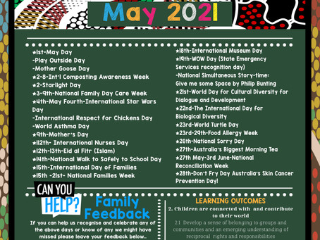 May Events and Awareness Days