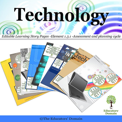 Technology Learning Story Pack