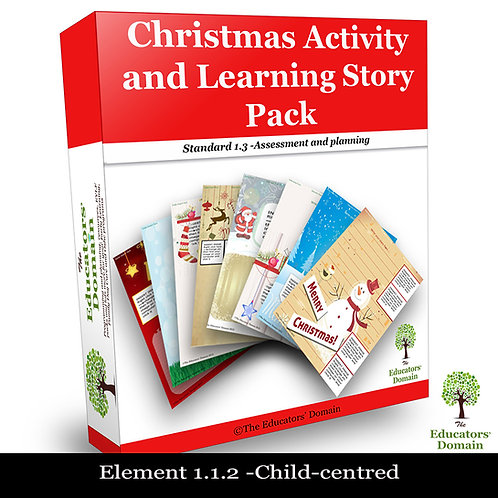 Christmas Activity and Learning Story Pack