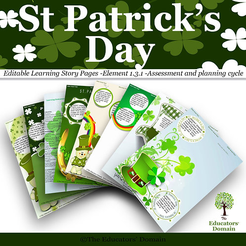 St Patricks Day  Learning Story Pack