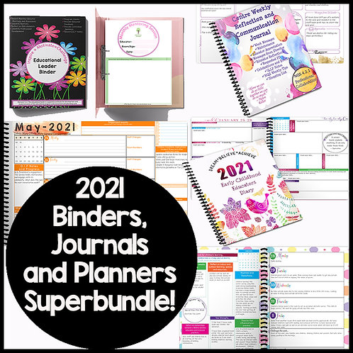 Special Journals/Planners Bundle Offer