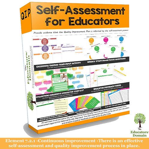 Educators Self-Assessment Set