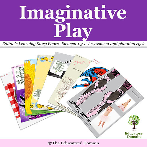 Imaginative Play Learning Story Pack