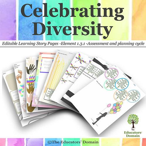 Celebrating Diversity Learning Story Pack