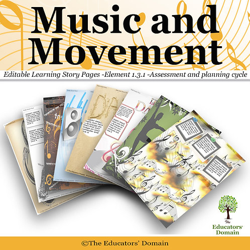 Music and Movement Learning Story Pack