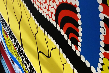 Educators' Domain Indigenous Artwork