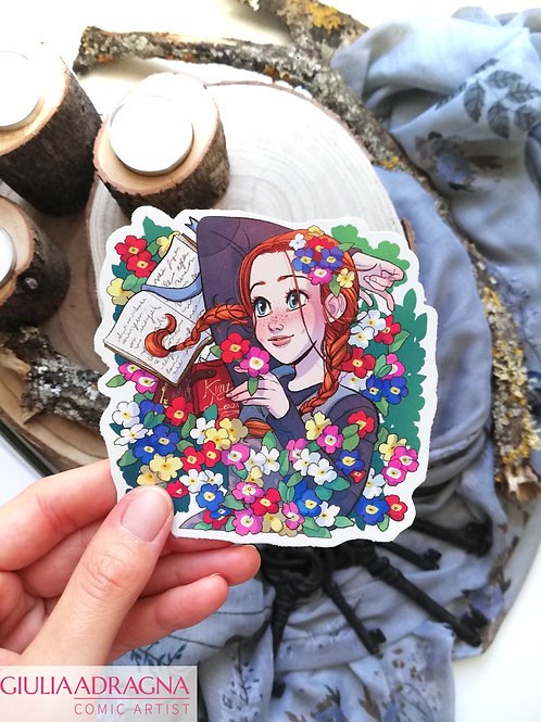 ANNE OF GREEN GABLES • stickers