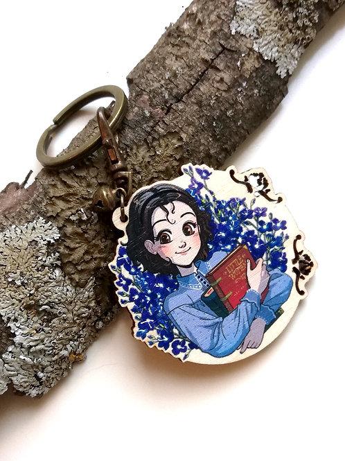 JO MARCH | LITTLE WOMEN • wooden keychain