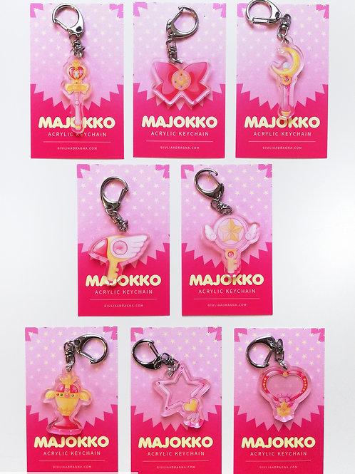 MAJOKKO   MAGICAL GIRLS • keychain