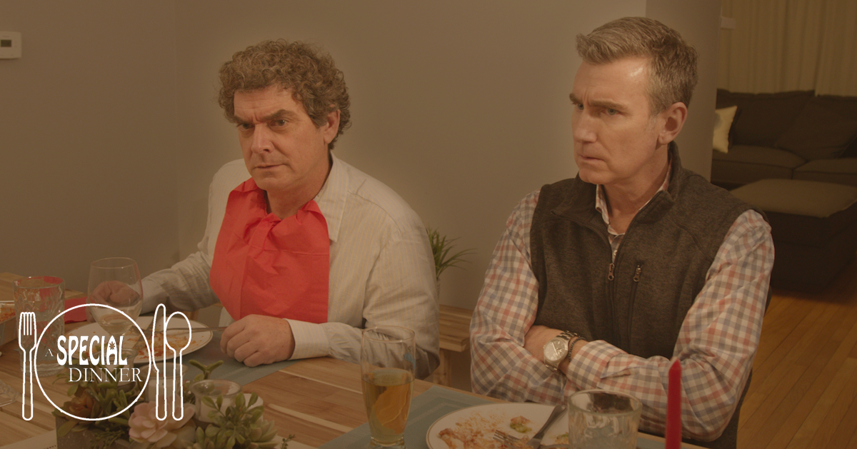 Andre Boudreau & Paul Noonan in A SPECIAL DINNER