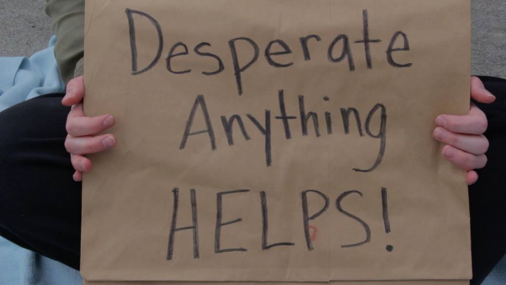 Desperate, Anything Helps! (2018)