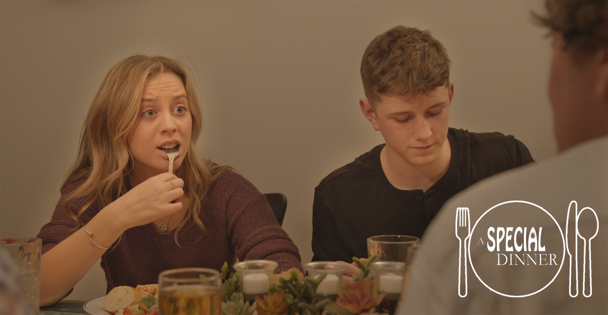 Haley Pine & Charlie Tacker in A SPECIAL DINNER