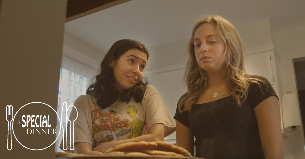 Emma Broomfield & Haley Pine in A SPECIAL DINNER