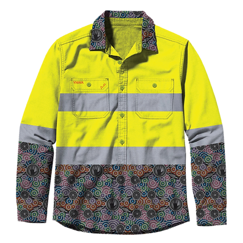 TradeMutt Work Shirt High Vis - Yellow