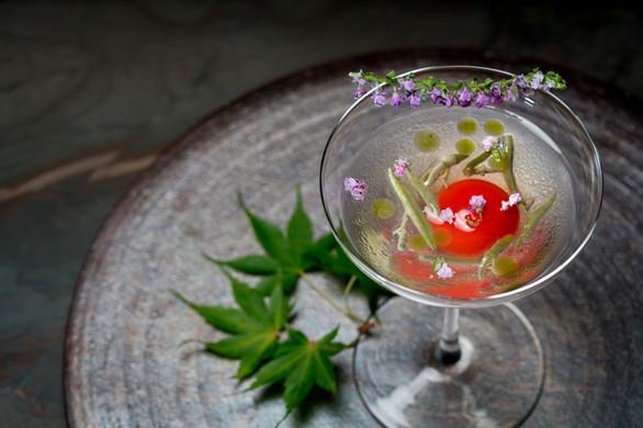 Fruit tomato cocktail