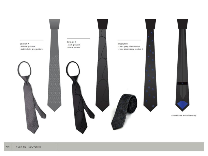 Hotel Staffs Neck Tie