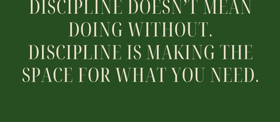 Building discipline in your team
