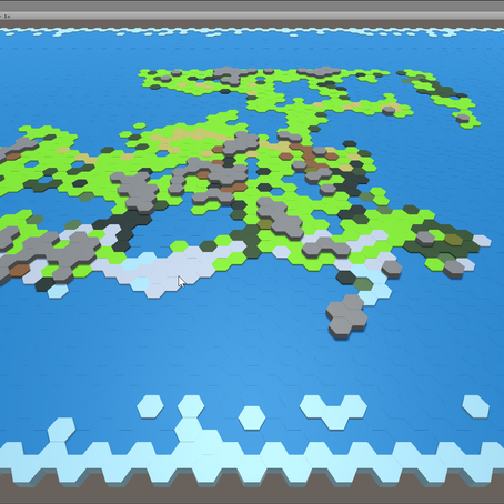 Hex-Based Map Generation