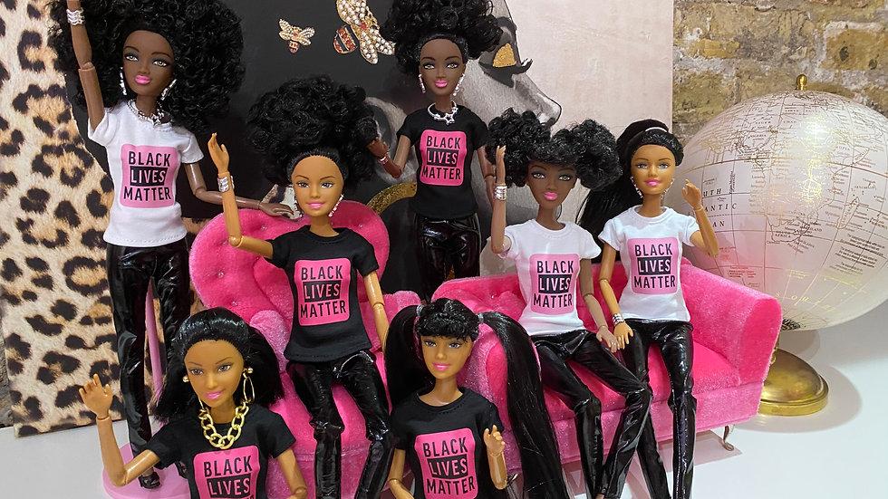I Am Pretty Black Lives Matter Doll