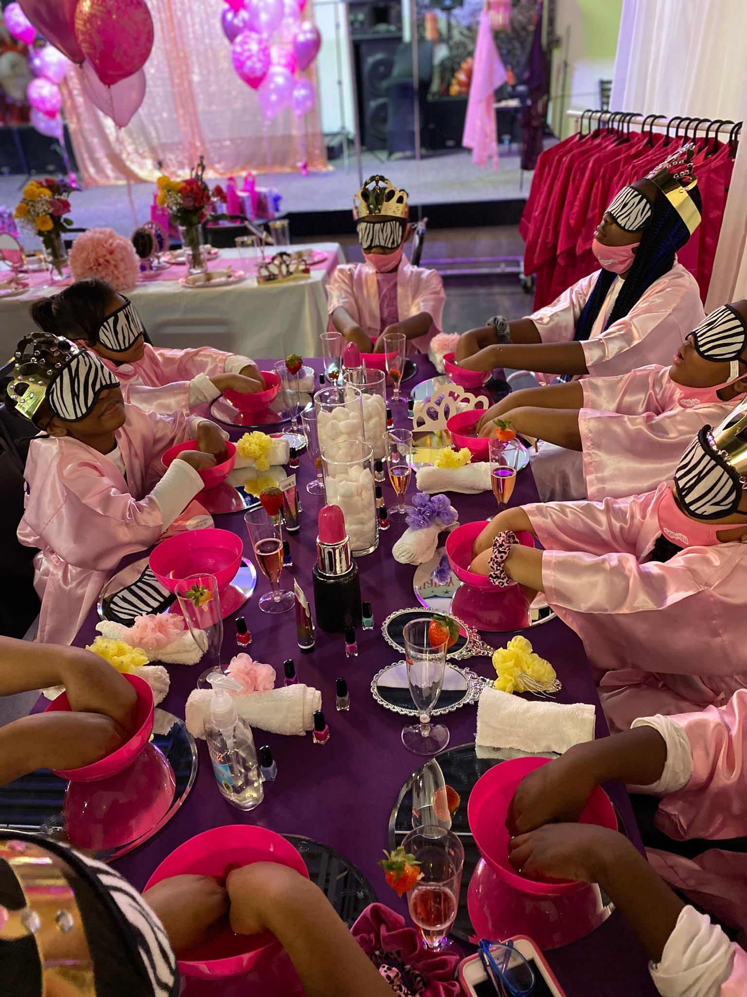 VIP Pretty Girls Spa Party