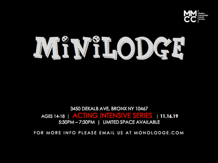 miniLODGE : ACTING INTENSIVE