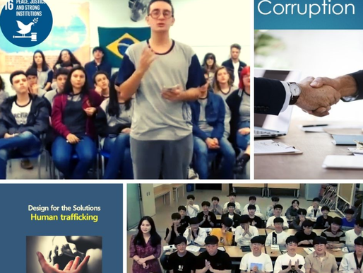 Korean and Brazilian Students Design Solutions in an Intercultural Experience