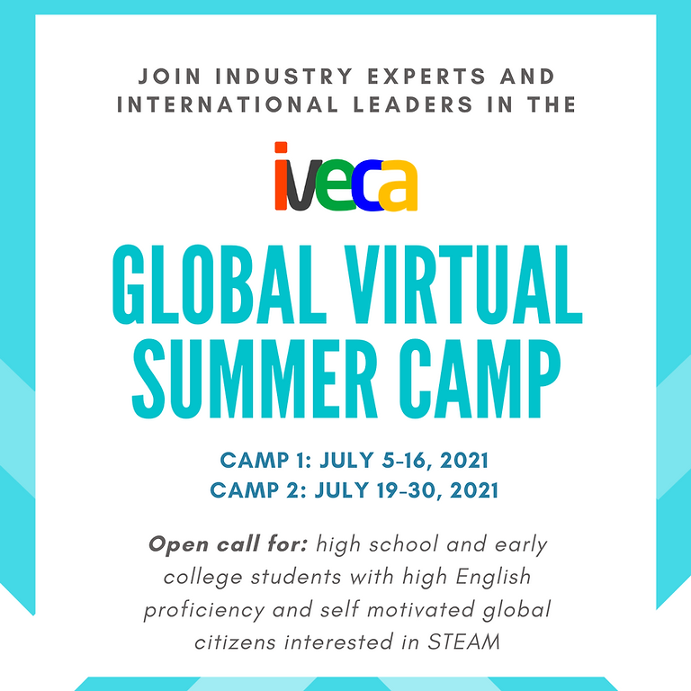 [Students] - IVECA Global Virtual Summer Camp - Apply now!