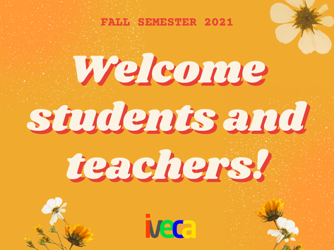IVECA Begins Exciting Fall Semester 2021