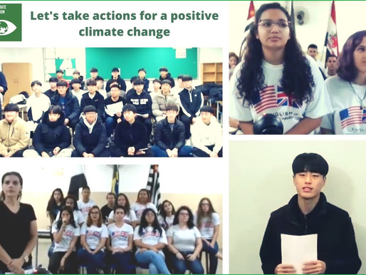 Students from São Paulo and Gongju Explore Positive Actions for Climate Change