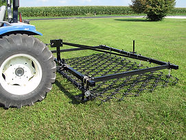 Three point Heavy-Duty tractor harrow is the best pasture drag available