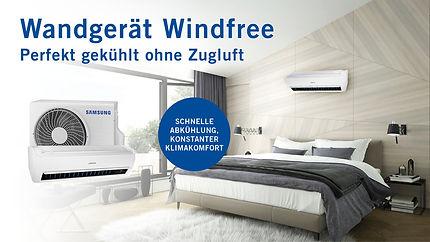 Samsung WindFree Abkühlung Klimageräte