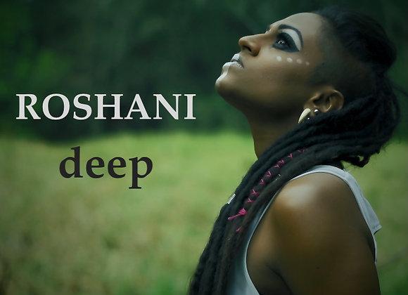 NEW ALBUM 'deep' - Signed by ROSHANI