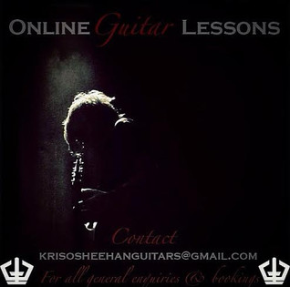 ONLINE GUITAR LESSONS TAUGHT BY KRIS SHEEHAN