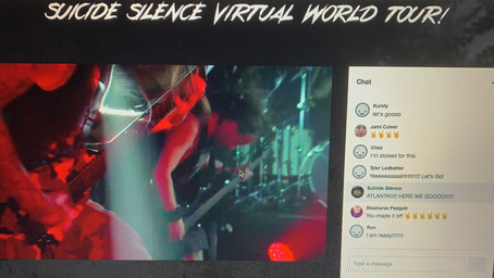 Suicide Silence Virtual Tour Atlanta Review