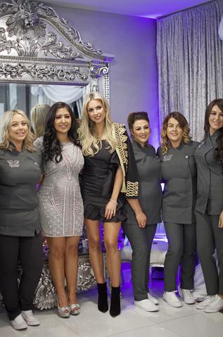 Opening Eve in Beutique Beauty Studio