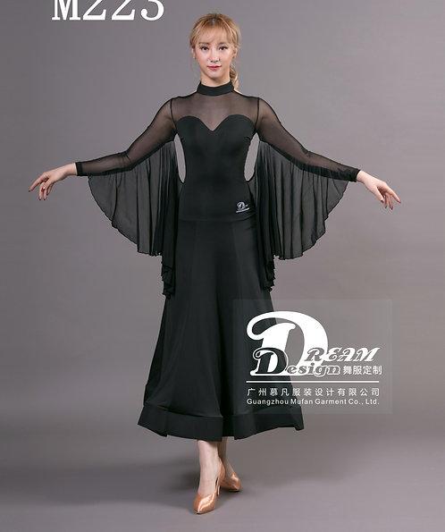 セール品 軽やかなフロートのボールルームドレス【 Dream-M223】