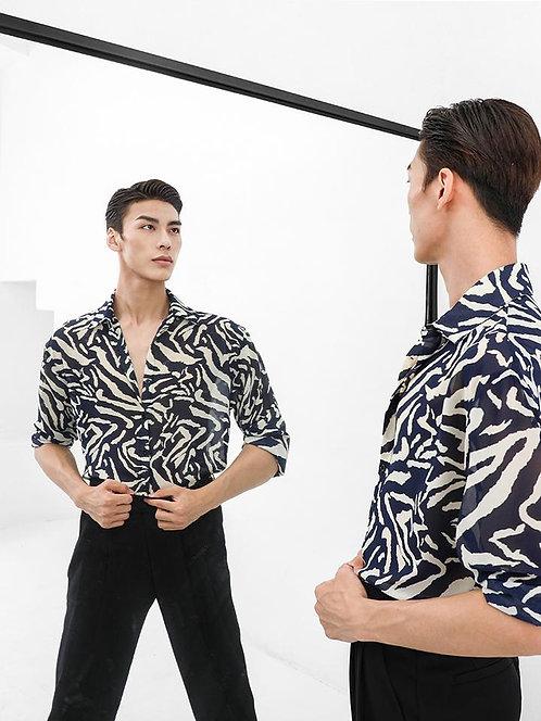 「Vinci Shirt」ZYM製 メンズトップス【ZYMN005】