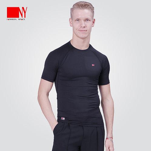 NY製ダンス用コンプレッションシャツ(半袖)【NY16171-2】