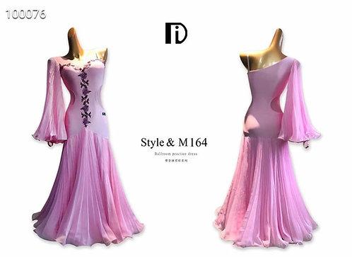 【TID M164D】ボールルームワンピース(ピンク)