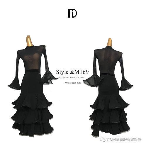 【TID M169】ボールルームワンピース(黒)