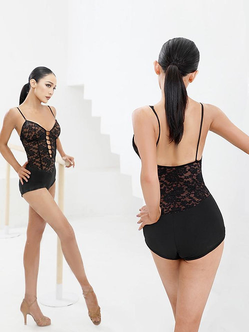 「Lace Is More Body Suit」レオタードトップス【ZYM2115】