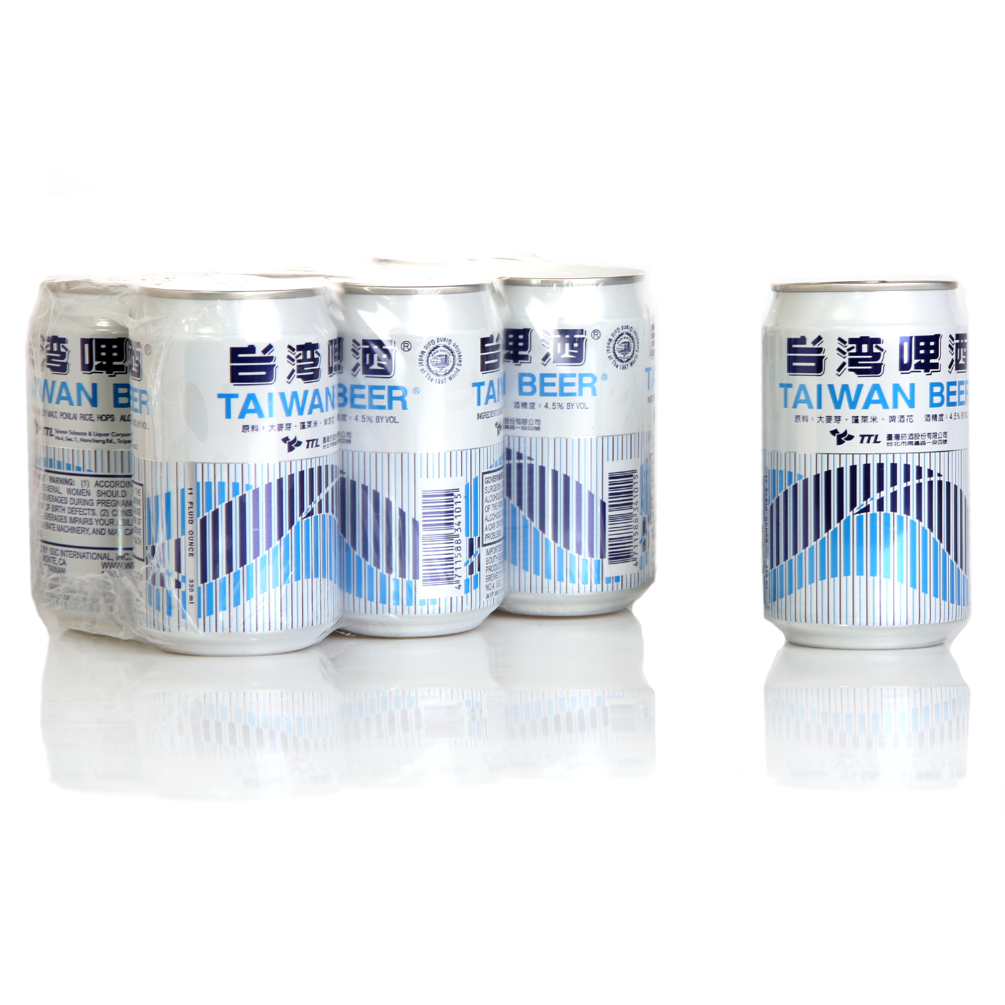 Taiwan beer-6 pack can 1