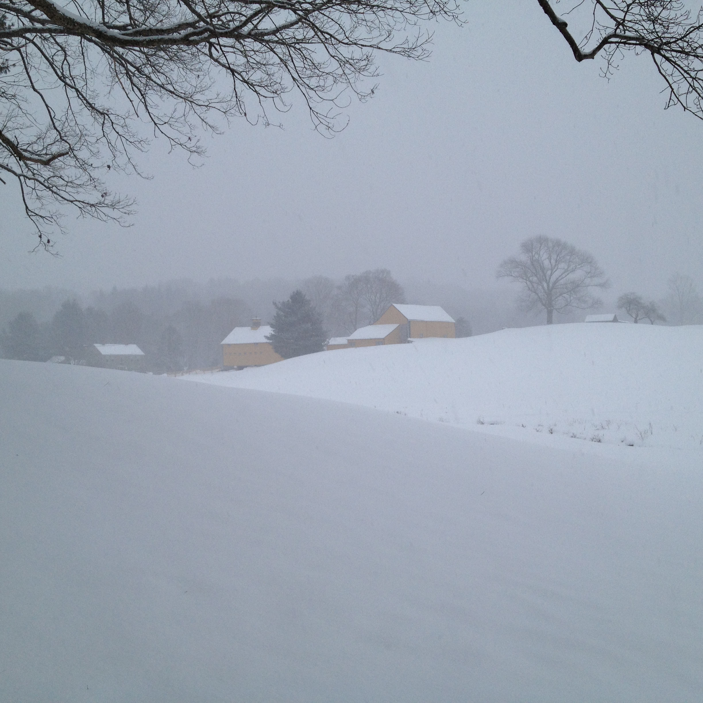 Fenn's Farm, Winter Storm